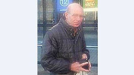Police have released a photo of a man they wish to speak to in connection with an assault in Newmark