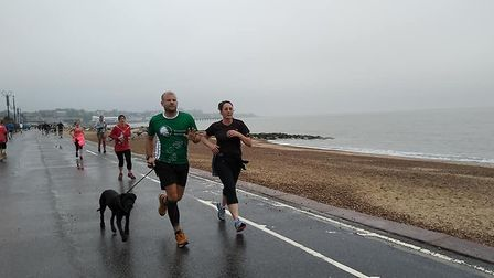A totsal of 267 runners, joggers and walkers took part in Saturday's Felixstowe parkrun.