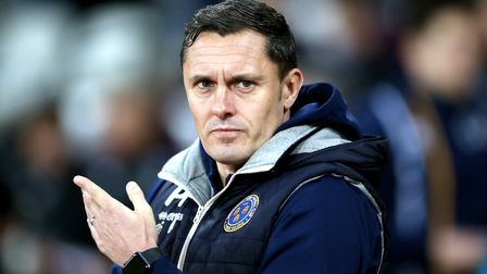 Shrewsbury Town have finished third in League One under Paul Hurst. Photo: PA