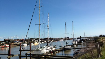 the river Blyth in Walberswick, where the crash is reported to have happened (stock image). Picture: