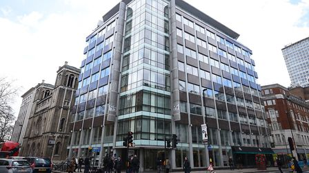 The offices where Cambridge Analytica are based in central London. The firm is to shut down. Picture