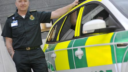 Robert Morton, the chief executive of the East of England Ambulance Service Picture: SU ANDERSON