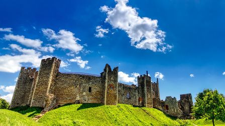 Framlingham Castle - where Mary Tudor (Mary I) triumphed. Picture: ALEX ROOD