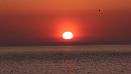 You get first sight of sunrise at Lowestoft. Picture: PHILIP CHIPPERFIELD
