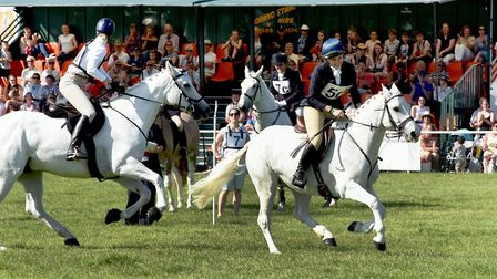 Inter-Hunt Relay at Suffolk Show. Picture: SUFFOLK AGRICULTURAL ASSOCIATION