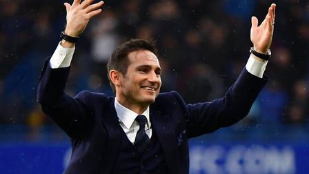 Frank Lampard was interviewed for the job. Picture: PA SPORT