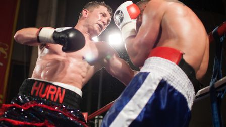 Powerful Clacton middleweight Joe Hurn is unbeaten. Picture: JERRY DAWS