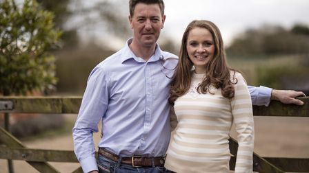 Shaken Udder founders co-founders Andrew Howie and Jodie Farran of Tolleshunt Major Picture: SHAKEN