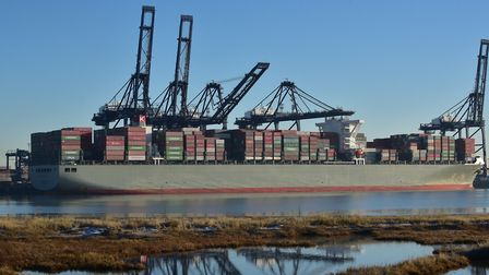 The Port of Felixstowe is a key boost to Suffolk businesses wishing to export Picture: SARAH LUCY BR