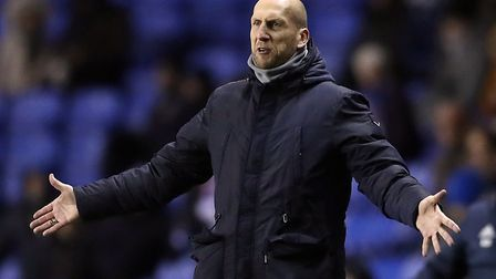 Jaap Stam was sacked by Reading in March after reaching last season's play-off final. Picture: PA