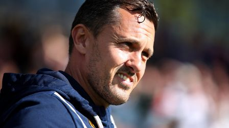 Paul Hurst's Shrewsbury Town are in the League One Play-Off Final on Sunday. Photo: PA