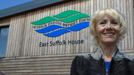 The new chairwoman of Suffolk Coastal District Council, Nicky Yeo Picture: SUFFOLK COASTAL DISTRIC