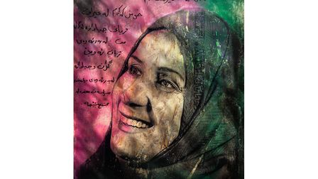 Naela. Gillian Allard's pictures of refugees form a central exhibit in this year's PhotoEast which r