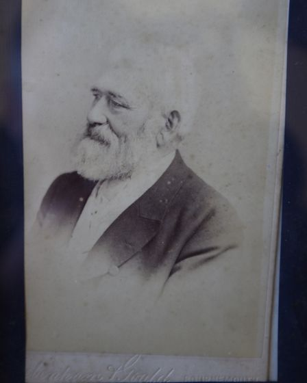 The great Suffolk Horse breeder William Byford Picture: COURTESY OF THE BYFORD FAMILY