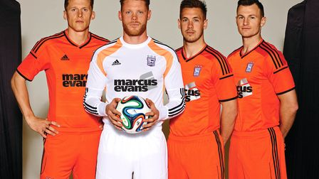 The first away kit under that new deal was orange.