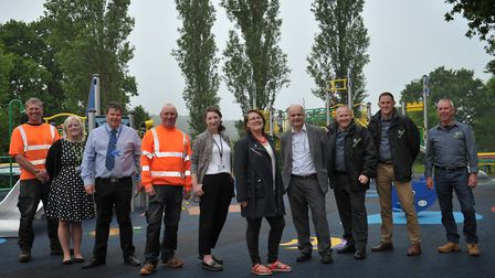 The new playground at Bourne Park is officially open Picture: SARAH LUCY BROWN