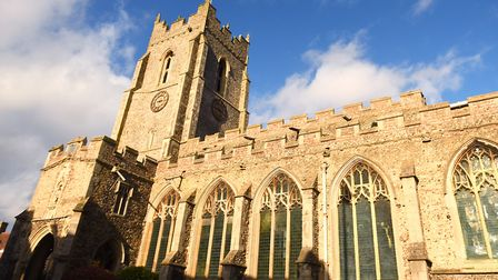 St Peter's on Sudbury's Market Hill. Picture: GREGG BROWN