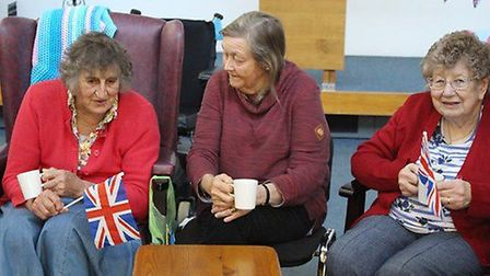 Hopton Day Care Centre has received a boost from councillor Carol Bull (centre) Picture: ST EDMUNDSB