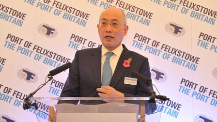 Port of Felixstowe boss Clemence Cheng has welcomed news of the multi-million pound investment into