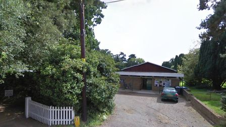 Kirton Church Hall where the event will take place Picture: GOOGLE MAPS