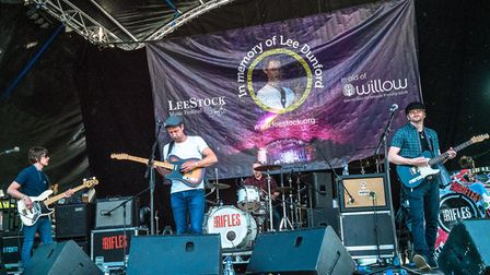 The Rifles at LeeStock Picture: MICK REES