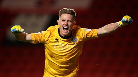 England U21 goalkeeper Dean Henderson is on loan at Shrewsbury from Manchester United. Photo: PA