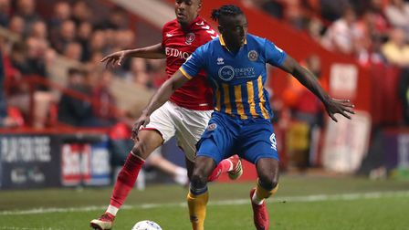 Defender Omar Beckles (right) is one of several players Paul Hurst has signed with non-league backgr