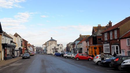 The incident happened in Aldeburgh High Street Picture: SIMON PARKER