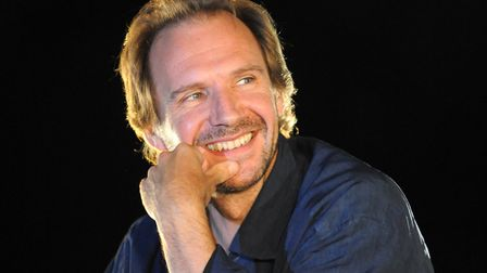 Ralph Fiennes who will be at the Halesworth Cut for the launch of Michael Ondaatjes latest novel, W