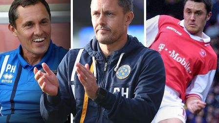 Paul Hurst played almost his entire career at Rotherham before managing Ilkeston, Boston, Grimsby an