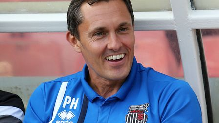 Paul Hurst guided Grimsby Town back into the Football League prior to joining Shrewsbury. Photo: PA