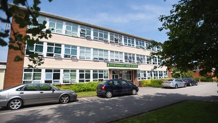 Stowmarket High School is set to get a new building Picture: GREGG BROWN
