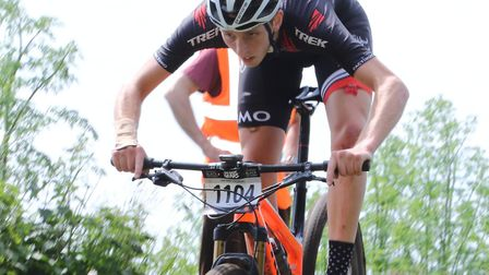 Paddy Atkinson (from Holbrook) – Elite Men's Champion at the Eastern MTB Championships. Picture: JOH