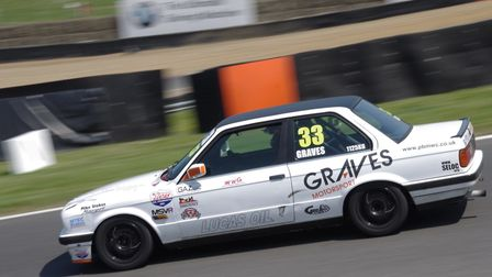 David Graves in action at Brands Hatch. Picture: GRID ART