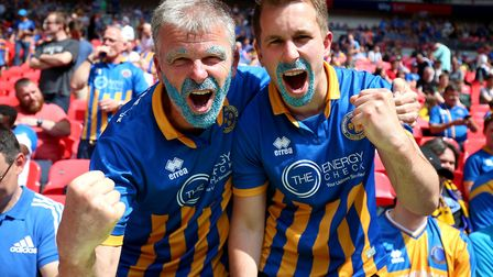 Paul Hurst galvanised Shrewsbury Town fans - many of whom had started to walk away from the club. Ph