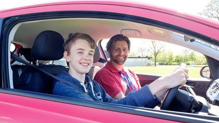 Do you know a 10-17-year-old who would like a driving lesson? Picture: YOUNG DRIVER