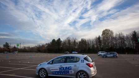 Young Driver uses dual control Vauxhall Corsas to teach 10-17s how to drive Picture: YOUNG DRIVER