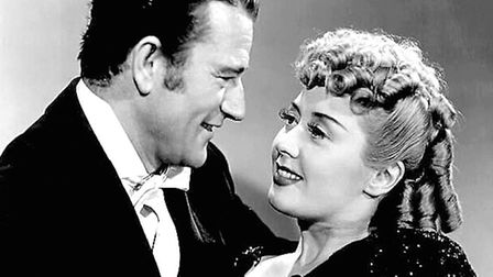 John Wayne and Joan Blondell. Photo: Republic Pictures