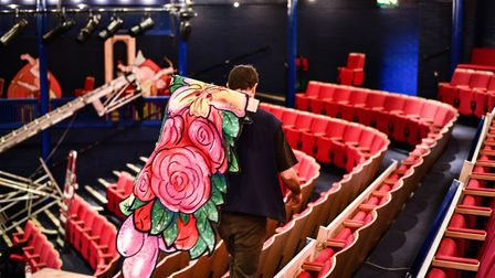 Ipswich's New Wolsey Theatre has been awarded funding Picture: SARAH LUCY BROWN
