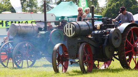 A lovely warm sunny day at Woolpit Steam rally picture: SYLVIE BETTSWORTH
