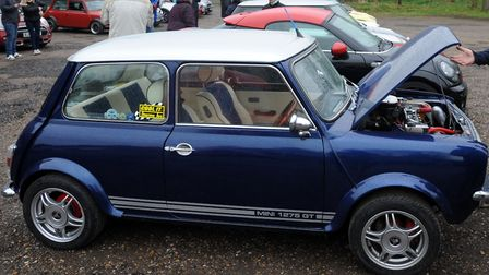Take a mini fan out this weekend Picture PHIL MORLEY