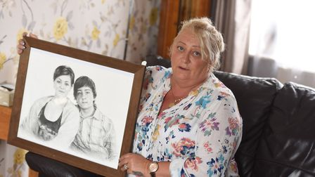Campaigner Caroline Shearer lost her son Jay Whiston after he was fatally stabbed in 2012 Picture: G
