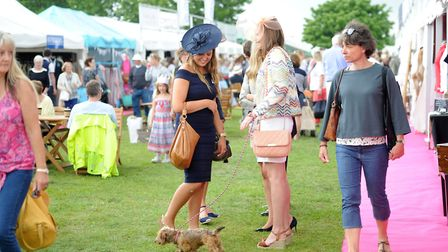 The weather should be good for the Suffolk Show - but be prepared for a shower . Picture:SARAH LUCY