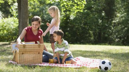 Enjoying a picnic in the sunshine. Which location will you choose this summer? Picture: GETTY IMAGES
