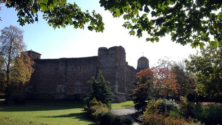 Castle Park, Colchester, in the sunshine. Picture: LUCY TAYLOR