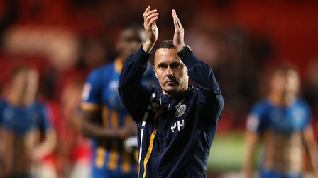 Shrewsbury Town manager Paul Hurst has guided his side into the League One play-off final and remain
