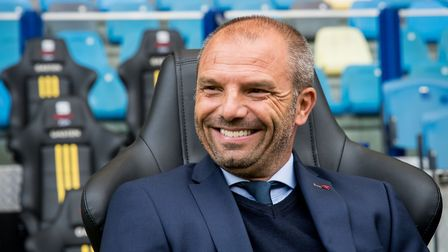 Maurice Steijn was again linked with the Ipswich job having first been mentioned last summer. Pictur