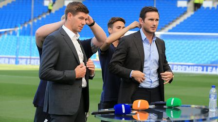 Steven Gerrard and Frank Lampard were both said to be candidates.
