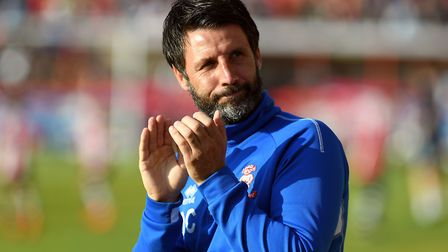Lincoln City manager Danny Cowley was an early favourite for the Ipswich job. Picture: PA