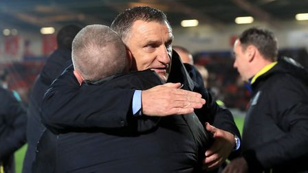Tony Mowbray was linked early on. Picture: PA